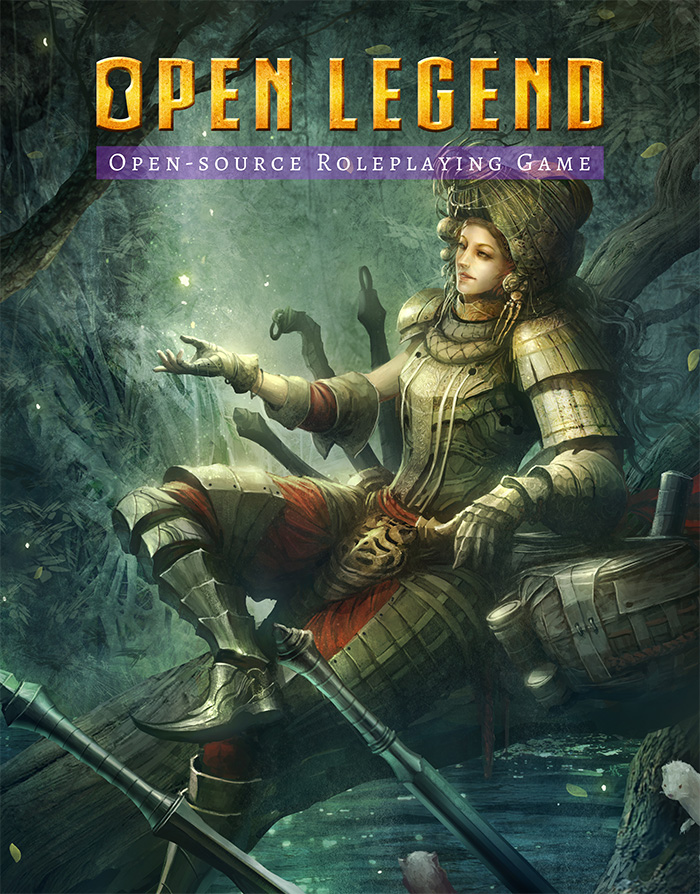 Open Legend RPG - Open Source Roleplaying Game